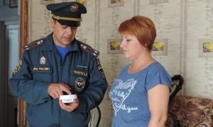 Установка пожарных извещателей в Чановском районе